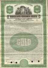 Rogers-Brown Iron Company > 1922 New York mining $1,000 gold bond certificate