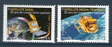 TIMBRES 4945-4946 NEUF XX TTB - 50 ANS DE COOPERATION INDO FRANCAISE - SATELLITE