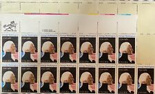 USA: George Washington 1981 block of 39 U/Mint