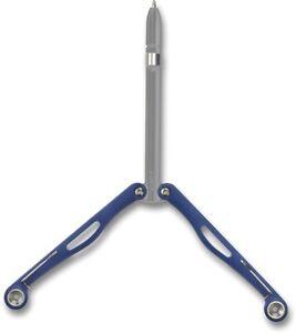 Spyderco Baliyo Wing Pen Blue and Gray Fisher Space Pen YCN102