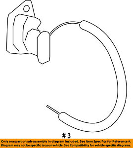 CHRYSLER OEM Liftgate-Lock Actuator Motor 4589581AL