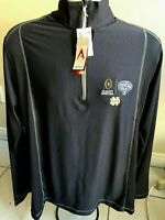 Notre Dame Fighting Irish Men's Tempo 1/4 Zip Jacket by Antigua Outerwear NEW