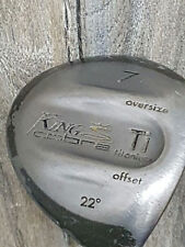 Golfschläger King Cobra 22° 7 Titanium Golf Eisen Holz