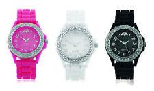 Silicone/Rubber Case Round Wristwatches