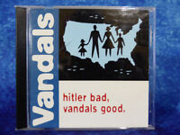 VANDALS Hitler Bad, Vandals Good CD Nitro Records 1998 American Punk Rock