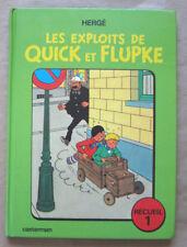 Les Exploits de Quick et Flupke ; Recueil 1  HERGE éd Casterman