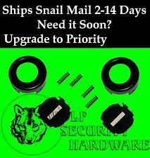 GM Strattec Door Lock Part Black Face Cap Dust Shutter Assembly & Springs