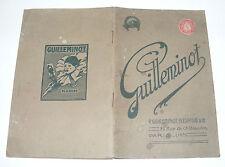 S119/ ANCIEN CATALOGUE GUILLEMINOT 1923 PLAQUES PAPIERS PHOTOS DEVELOPPEMENT...