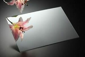 Silver Acrylic Mirror Perspex Sheet Plastic Material Panel A1 A2 A3 A4 A5 & more