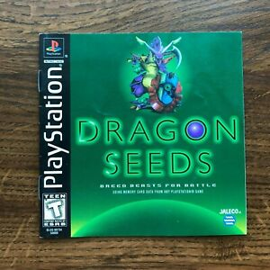 Dragon Seed PS1 Playstation 1 PS One Instruction Manual Only
