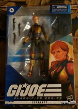 "G.I. Joe Classified Series 6"" Scarlett Action Figure Brand New Factory Sealed"