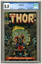 Thor 131 (CGC 5.5) OW/W pages; 1st app. Rigellians; Kirby; Marvel; 1966 (j#4832)