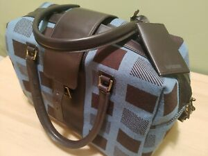 Hartmann Wool And Leather Duffle Bag