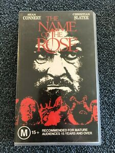 The Name Of The Rose VHS 1987