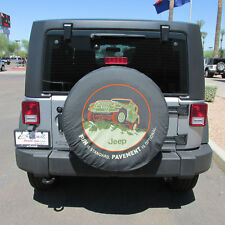 "JEEP Wrangler ""Fun is Standard, Pavement is Optional"" Tire Cover NEW OEM MOPAR"