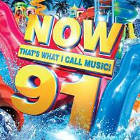 NOW THATS WHAT I CALL MUSIC 91 - NEW & SEALED - UK STOCK - DOUBLE CD
