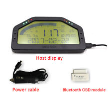 Dash Race Display OBD2 Bluetooth Dashboard LCD Screen Digital Gauge Pretty