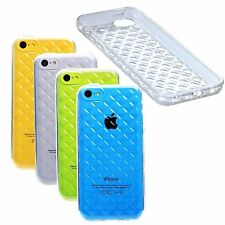 Body Glove Shimmer Case For iPhone 5c Diamond Glitter Soft Gel Transparent - New