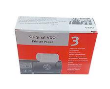 Original VDO Druckerpapier 3 Papierrollen 8 Meter pro Rolle