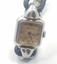 Beautiful Vintage 40s Zenith Mechanical Ladies Wrist Watch