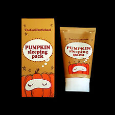 Too Cool For School Pumpkin Sleeping Pack 100mL Korean Cosmetics Face Skincare
