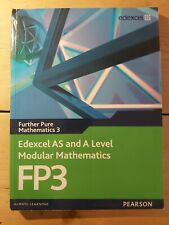 Edexcel FP3 (Further Pure Mathematics 3) A-level Textbook with CD ROM