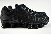 Nike Shox TL (Mens Size 9) Neymar Jr Shoes BV1127 001 Triple Black