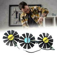 3PCS/SET Card Cooling Fan For ASUS ROG Strix GTX 1080Ti 1060 Graphics 1080 T5O5