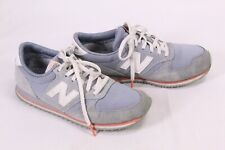 7D New Balance Damen Fashion Sneaker Sportschuhe Leder grau-blau Gr. 37 WL420