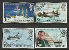 South Georgia 1972 Death of  Shackleton set SG 32-35 Fine used.