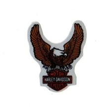 "1-7/8"" HARLEY DAVIDSON EAGLE BAR SHIELD ~ OUTSIDE MOST ANYWHERE REFLECTIVE DECAL"