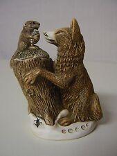 Harmony Kingdom Peace Summit Wolf Beaver #Tjwo2 Treasure Jest Calvesbert New