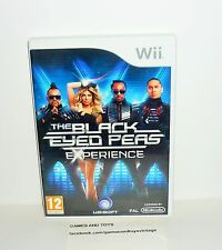 JEU NINTENDO WII COMPLET THE BLACK EYED PEAS EXPERIENCE REF 40