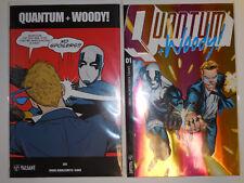 Quantum And Woody #1 Ultra-foil Prism 1:20 variant VALIANT comic + Meme