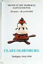 Affiche originale Claes OLDENBURG, 40 x 60 cm - Poster arts
