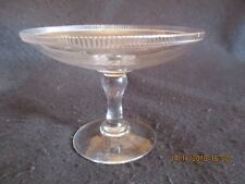 ART DECO BLOWN GLASS PEDESTAL BON-BON DISH/TAZZA c.1930's EX