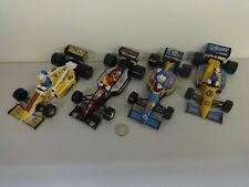 Burago 1:24 Disney 4 Car Formula Racers Set - Scrooge, Goofy, Donald, Mickey