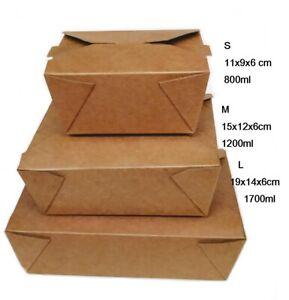 Take away  Verpackung Lunch Menü Snack Hamburger Sandwich Box Einweg Papier
