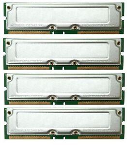 2GB KIT PC800-45 Dell Precision WorkStation 340 RAMBUS MEMORY TESTED