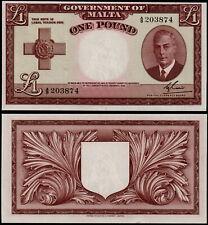 More details for malta 1 pound (p22a) kgvi l. 1949 (1951) unc