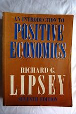 An Introduction to Positive Economics 7 Ed., Richard G. Lipsey (Paperback, 1979)
