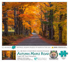 Jigsaw Puzzle - New Hampshire - Autumn Maple Road Sugar Hill - 345 Pieces -12x18