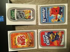 2015 Topps Wacky Packages Stickers Silver Parallel Complete Set 110 Cards