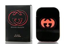 Gucci Guilty Black Para Perfume Feminino 2.5 Oz/75 Ml Eau De Toilette Novo Na Caixa