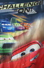 Disney Cars SLeeping Bag Red Lightning Mc Queen 95  29 x 53 long CHallege is On