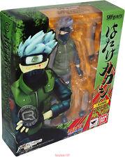 S.H.Figuarts Naruto Shippuden Hatake Kakashi Action  Figure Toy New In Box PVC