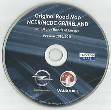 ORIGINAL VAUXHALL NCDC NCDR 1100 1500 2013 2011 2015 NAVIGATION DISC SAT NAV MAP