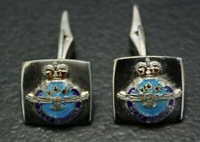 Royal Canadian Air Force RCAF Cufflinks Sterling