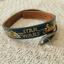 Rare Stars Wars 1979 Character Kid Child Belt Vintage with Buckle
