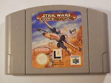 Nintendo 64 N64 Game STAR WARS ROGUE SQUADRON 64 PAL NUS-006 EUR NUS-NRSP-EUR